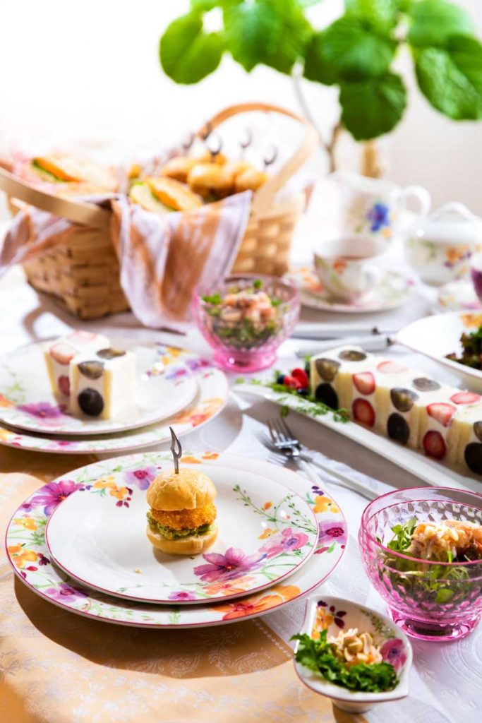 Blooming Lunch Party スタイリング&レシピ