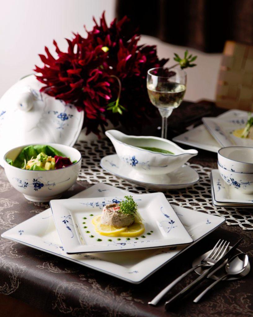 鯖のムース サラダ菜のソース